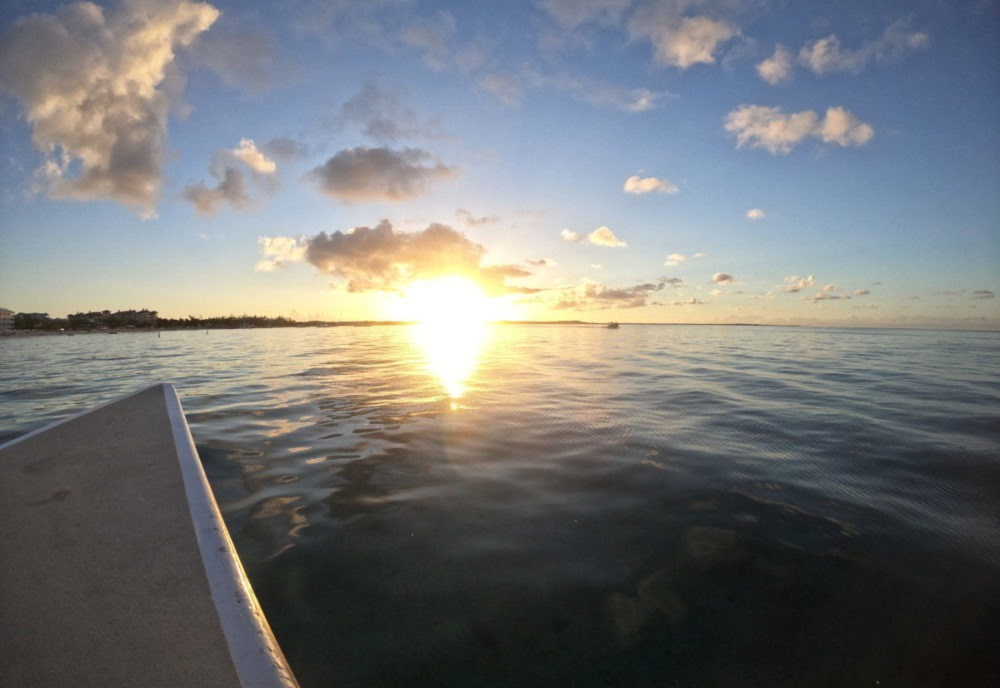 Sunset cruise on Turks and Caicos Island Tour