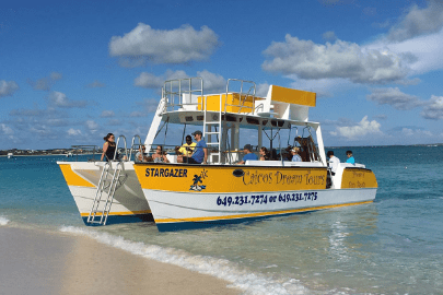 boating in Turks and Caicos Islands