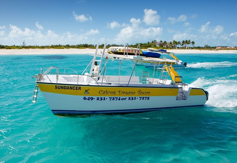 Turks and Caicos Island tour underway