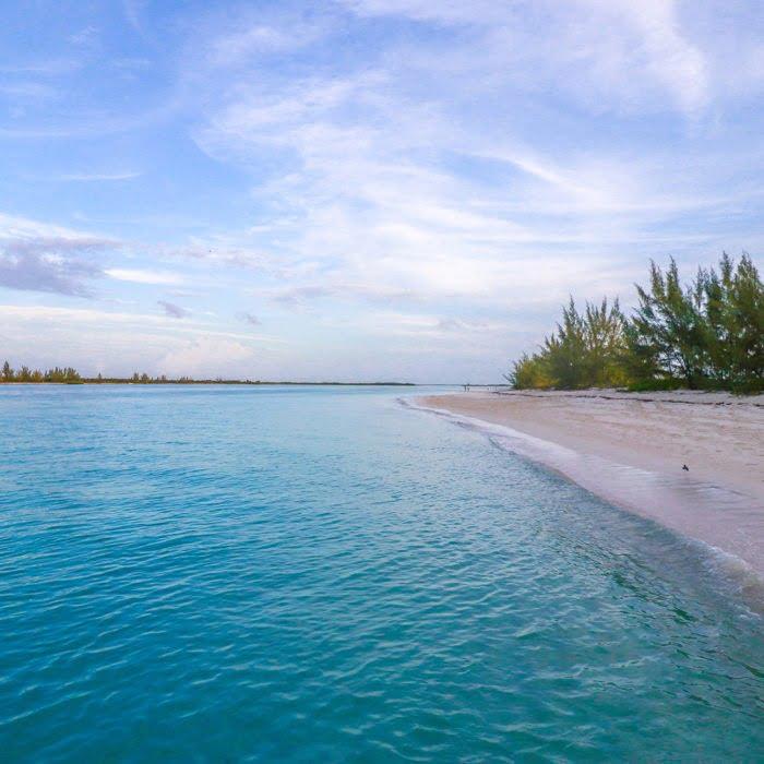 empty beach of the Turks & Caicos islands